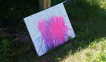 water balloon painting 1